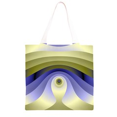 Fractal Eye Fantasy Digital  Grocery Light Tote Bag