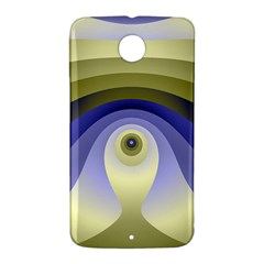 Fractal Eye Fantasy Digital  Nexus 6 Case (White)
