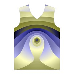Fractal Eye Fantasy Digital  Men s Basketball Tank Top
