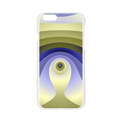 Fractal Eye Fantasy Digital  Apple Seamless iPhone 6/6S Case (Transparent)