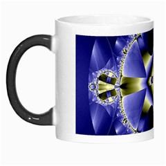 Fractal Fantasy Blue Beauty Morph Mugs