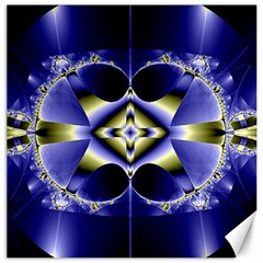 Fractal Fantasy Blue Beauty Canvas 20  x 20