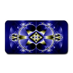Fractal Fantasy Blue Beauty Medium Bar Mats