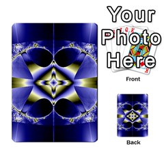 Fractal Fantasy Blue Beauty Multi-purpose Cards (Rectangle)