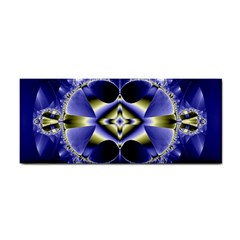 Fractal Fantasy Blue Beauty Hand Towel