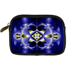 Fractal Fantasy Blue Beauty Digital Camera Cases