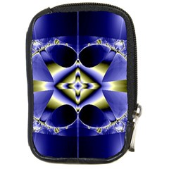 Fractal Fantasy Blue Beauty Compact Camera Cases
