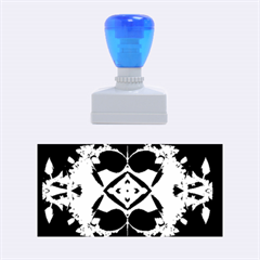 Fractal Fantasy Blue Beauty Rubber Stamps (Medium)