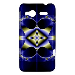 Fractal Fantasy Blue Beauty HTC Radar Hardshell Case