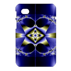 Fractal Fantasy Blue Beauty Samsung Galaxy Tab 7  P1000 Hardshell Case