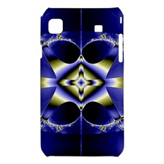 Fractal Fantasy Blue Beauty Samsung Galaxy S i9008 Hardshell Case
