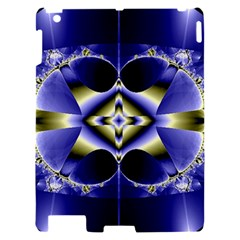 Fractal Fantasy Blue Beauty Apple iPad 2 Hardshell Case