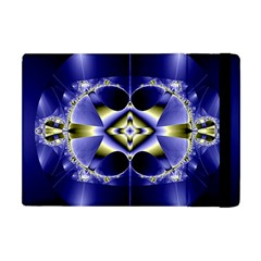 Fractal Fantasy Blue Beauty Apple iPad Mini Flip Case