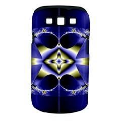 Fractal Fantasy Blue Beauty Samsung Galaxy S III Classic Hardshell Case (PC+Silicone)