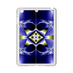 Fractal Fantasy Blue Beauty iPad Mini 2 Enamel Coated Cases