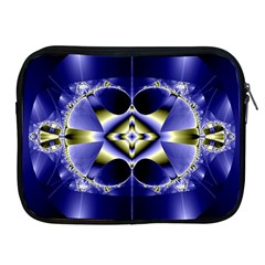 Fractal Fantasy Blue Beauty Apple iPad 2/3/4 Zipper Cases