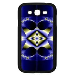 Fractal Fantasy Blue Beauty Samsung Galaxy Grand DUOS I9082 Case (Black)