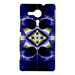 Fractal Fantasy Blue Beauty Sony Xperia SP