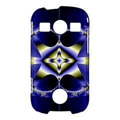 Fractal Fantasy Blue Beauty Samsung Galaxy S7710 Xcover 2 Hardshell Case