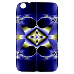 Fractal Fantasy Blue Beauty Samsung Galaxy Tab 3 (8 ) T3100 Hardshell Case