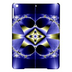 Fractal Fantasy Blue Beauty iPad Air Hardshell Cases