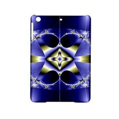 Fractal Fantasy Blue Beauty iPad Mini 2 Hardshell Cases