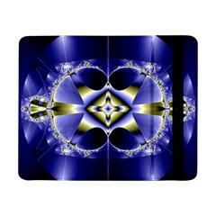 Fractal Fantasy Blue Beauty Samsung Galaxy Tab Pro 8.4  Flip Case