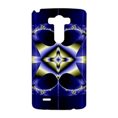 Fractal Fantasy Blue Beauty LG G3 Hardshell Case