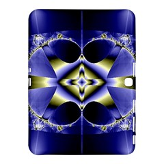 Fractal Fantasy Blue Beauty Samsung Galaxy Tab 4 (10.1 ) Hardshell Case
