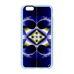 Fractal Fantasy Blue Beauty Apple Seamless iPhone 6/6S Case (Color)