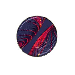 Fractal Fractal Art Digital Art Hat Clip Ball Marker (4 pack)