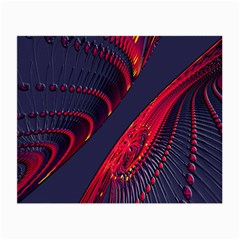 Fractal Fractal Art Digital Art Small Glasses Cloth (2-Side)
