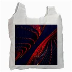 Fractal Fractal Art Digital Art Recycle Bag (Two Side)