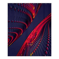 Fractal Fractal Art Digital Art Shower Curtain 60  x 72  (Medium)