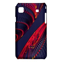Fractal Fractal Art Digital Art Samsung Galaxy S i9008 Hardshell Case