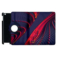 Fractal Fractal Art Digital Art Apple iPad 3/4 Flip 360 Case