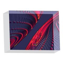 Fractal Fractal Art Digital Art 5 x 7  Acrylic Photo Blocks