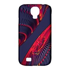 Fractal Fractal Art Digital Art Samsung Galaxy S4 Classic Hardshell Case (PC+Silicone)