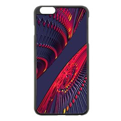 Fractal Fractal Art Digital Art Apple iPhone 6 Plus/6S Plus Black Enamel Case