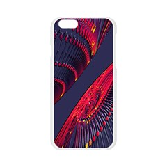 Fractal Fractal Art Digital Art Apple Seamless iPhone 6/6S Case (Transparent)