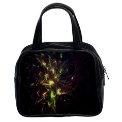 Fractal Flame Light Energy Classic Handbags (2 Sides)