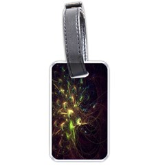 Fractal Flame Light Energy Luggage Tags (One Side)
