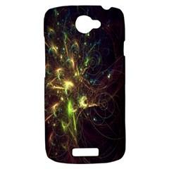 Fractal Flame Light Energy HTC One S Hardshell Case