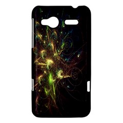 Fractal Flame Light Energy HTC Radar Hardshell Case