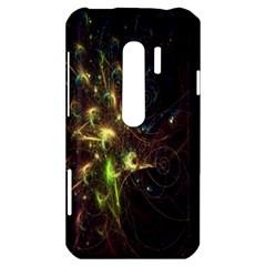 Fractal Flame Light Energy HTC Evo 3D Hardshell Case