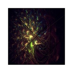 Fractal Flame Light Energy Acrylic Tangram Puzzle (6  x 6 )