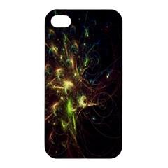 Fractal Flame Light Energy Apple iPhone 4/4S Premium Hardshell Case