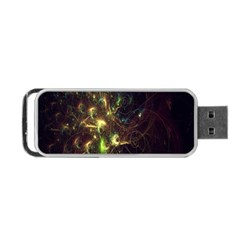 Fractal Flame Light Energy Portable USB Flash (One Side)