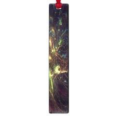 Fractal Flame Light Energy Large Book Marks