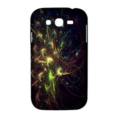 Fractal Flame Light Energy Samsung Galaxy Grand DUOS I9082 Hardshell Case